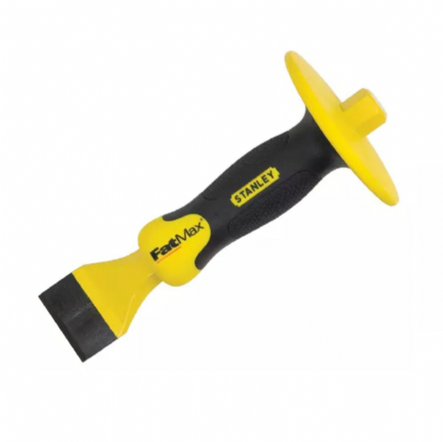 "Stanley Fatmax 418333 Masons Chisel With Guard 45mm x 215mm (1¾"" x 8½"")"